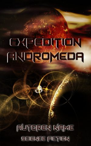 Premade Cover Sciencefiction 009