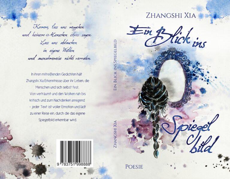 Portfolio Coverdesign Printversion Poesie Buchcover