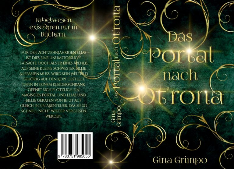 Portfolio Coverdesign Printversion Fantasy Buchcover