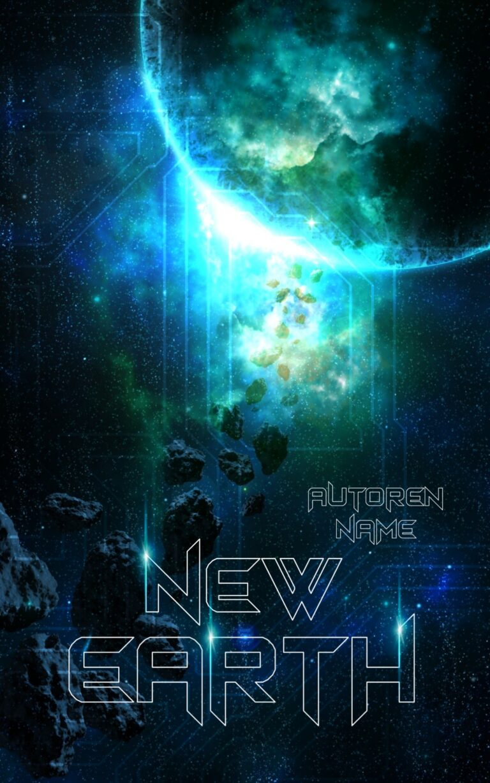 Buchcover gestalten lassen Roman Sciencefiction Dystopie Weltraum Weltall Coverdesign Premade Cover